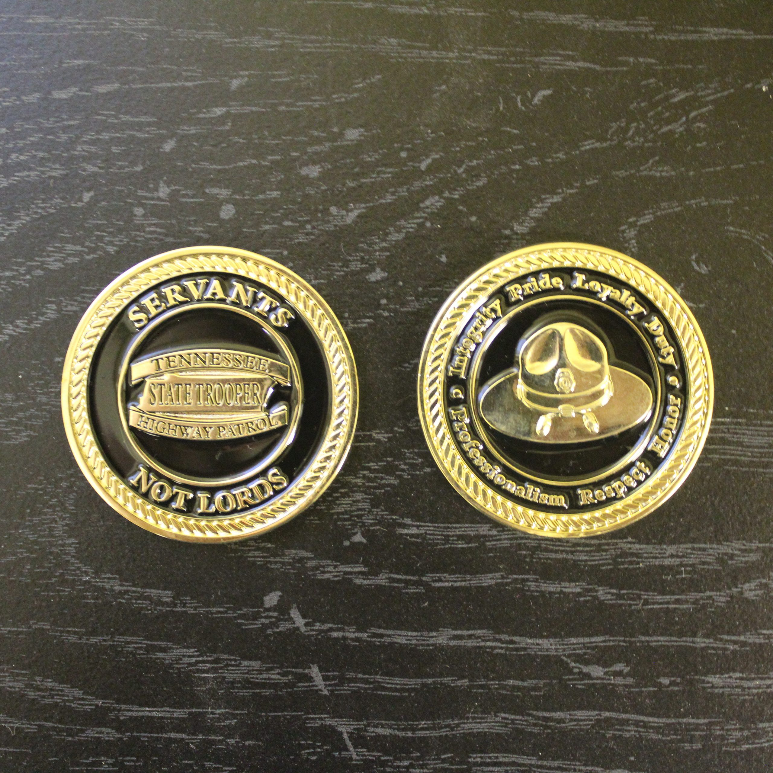 Challenge Coins & Holders